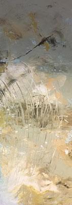 Schilf 2   ...   Acryl auf Leinwand   ...   50 x 150 cm