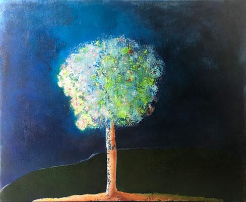 Jahreszeitenbaum   ...   Acryl auf Leinwand   ...   120 x 100 cm