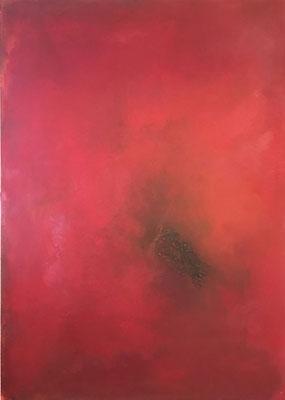 Freude an rot   ...   Acryl auf Leinwand   ....   140 x 100 cm
