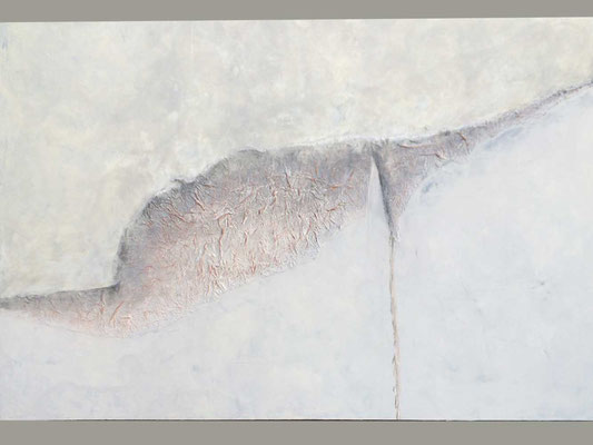 Von oben   ...   Acryl auf Leinwand   ...   150 x 100 cm