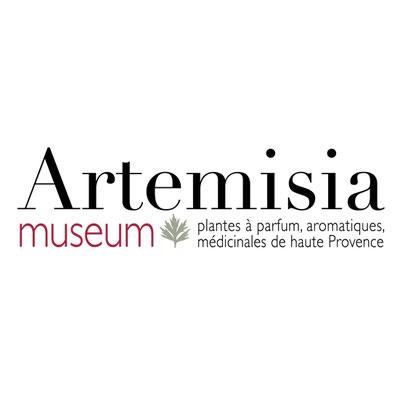 Création du nom et du logotype d'Artemisia museum à Forcalquier