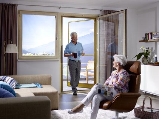 Montageservice RIVALETTO aus Hungen - Genießen Sie die frische Luft durch die offene Balkontür ohne von Fliegen und Co belästigt zu werden