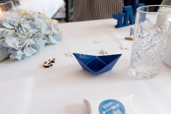 Tischdeko maritim