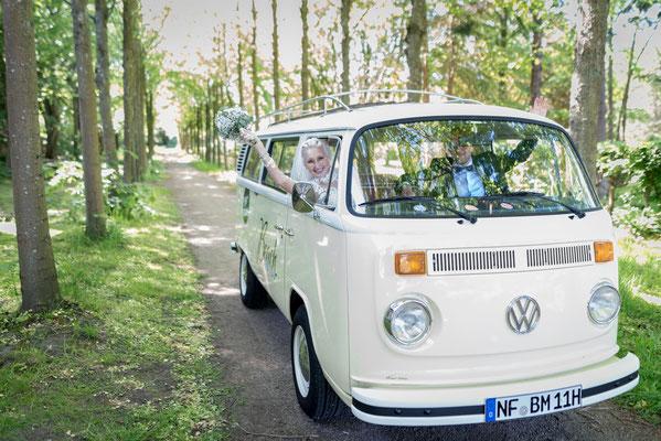 VW Bulli Liebe