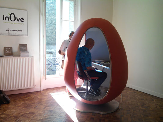 The ovoid office by in'Ove.