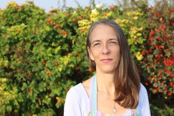 Heike Terhorst, Beratung und Verkauf im Hofladen