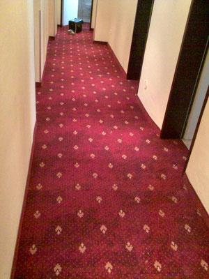 Verlegung Teppichboden
