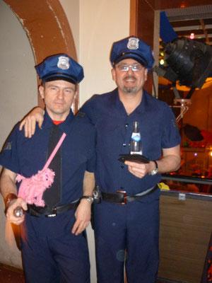WEnn ich groß bin will ich mal Polizist werden!