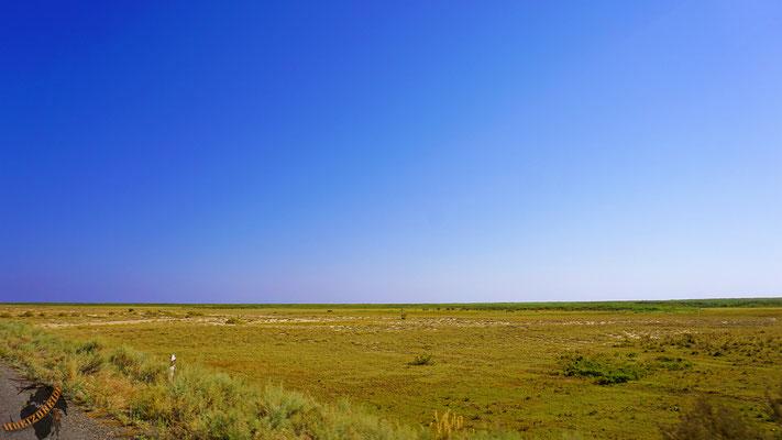 Kasachstan besteht größtenteils aus... nichts.