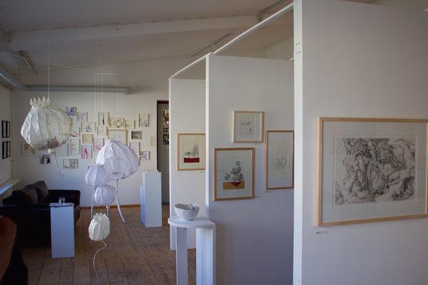2017 - Einzelausstellung Zeichnung, Malerei im Künstlerhof WerkStetten, 85247 Stetten