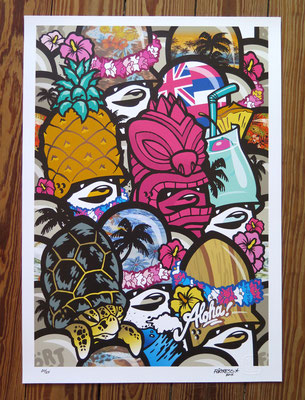 """Hawaii Formation"" / Limited Print @ http://www.thezonders.com/shop/art.html"