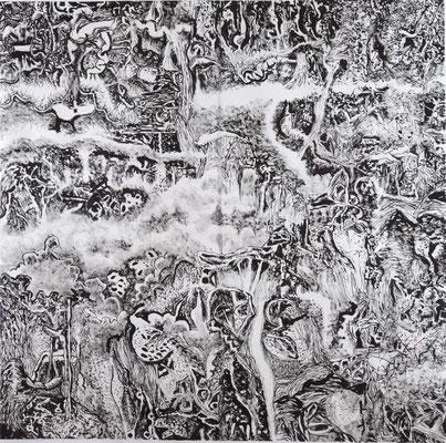 """7723 Wittgenstein's Garden 54""""x54"""""""