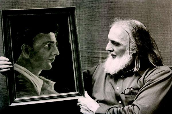 Helga Premm / Selbstportraits aus ca. 70 Jahren Schaffenskraft des Malers Jo Stolz.