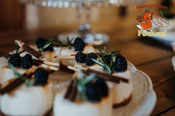 Cheesecake Mikado-Törtchen