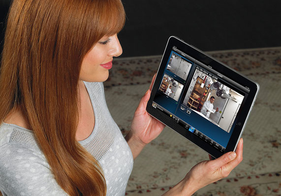Monitoring op tablet