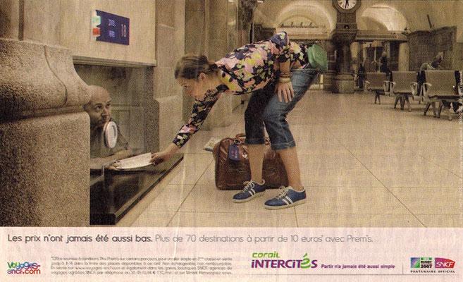 Annonceur : SNCF - Agence : ALLIGATOR