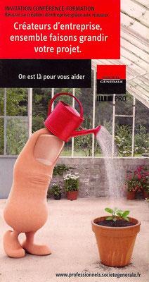 Annonceur : SOCIETE GENERALE - Agence : ALLIGATOR