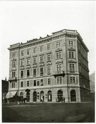 Nussdorferstrassse 21 Neubau 1897
