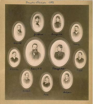 Franz Löblich und FAmilie