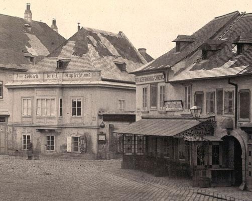 Firmensitz Nussdorferstrasse 21 um 1850