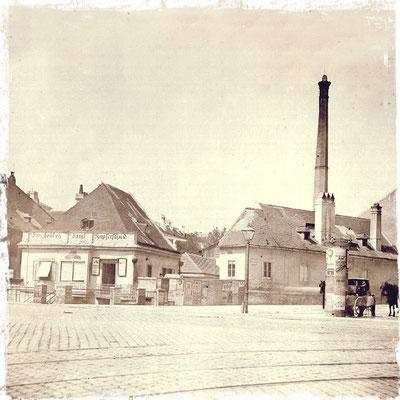 Firmensitz Nussdorferstrasse 21 um 1870