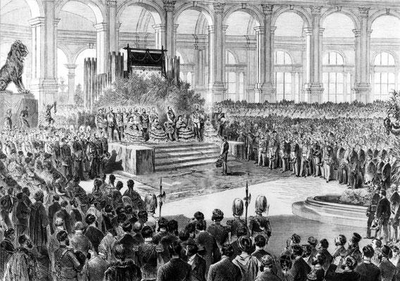 Eröffnung der Weltausstellung 1873
