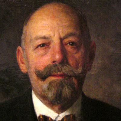 KR Leopold Löblich, Präsident des Reichsverbands der Kupferschmiede
