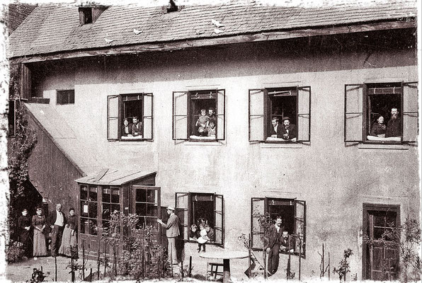 die Unternehmerfamilie um 1880