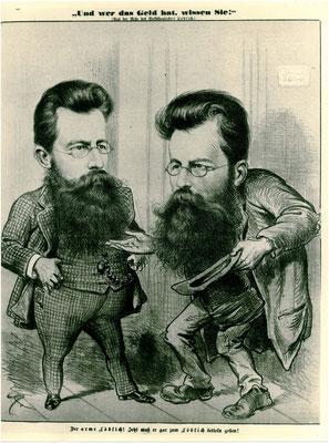 Franz Löblich Politische Karikatur