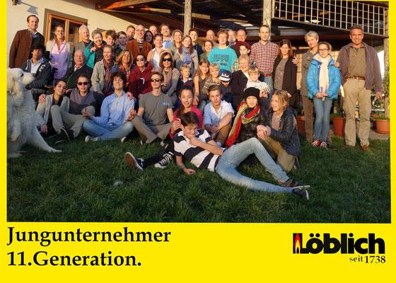 Unternehmerfamilie nächste Generation
