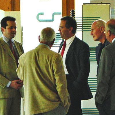 Team Löblich mit Generaldirektor Cattelan FERROLI S.p.A.