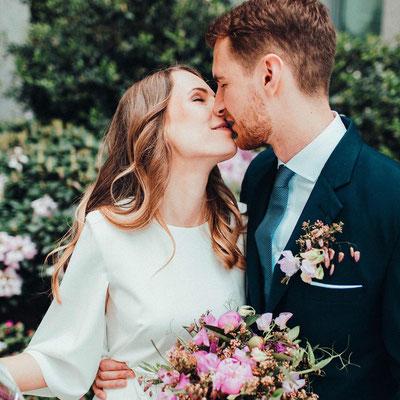 Hochzeit Hamburg Brautpaar 2021