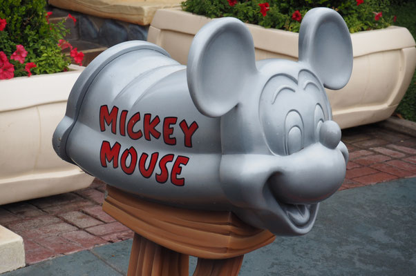 Mickey´s Briefkasten in Toontown