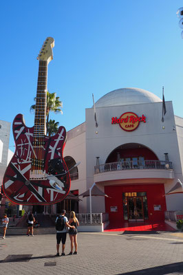 Hard Rock Cafe beim Studiowalk