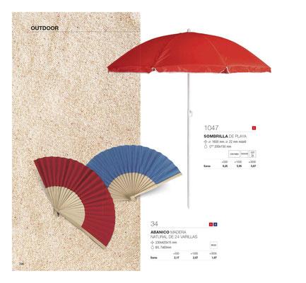 Paraguas personalizados, gorras merchandising, pelotas playa, toallas regalo marketing, magenta publicidad Mallorca