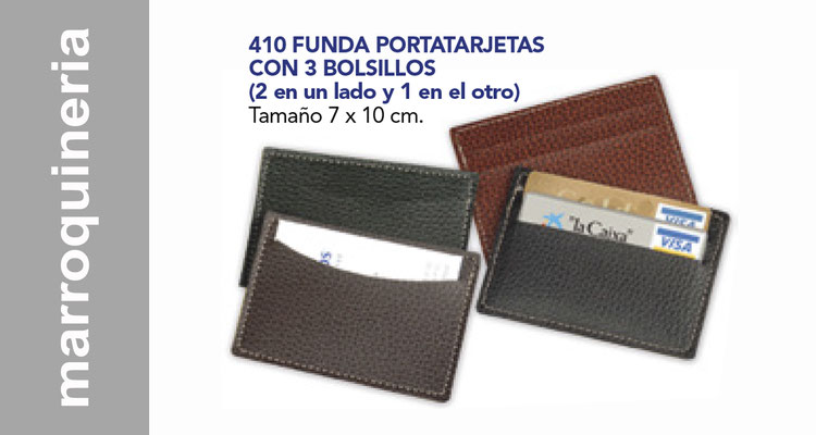 Marroquineria , carteras, portadocumentos.