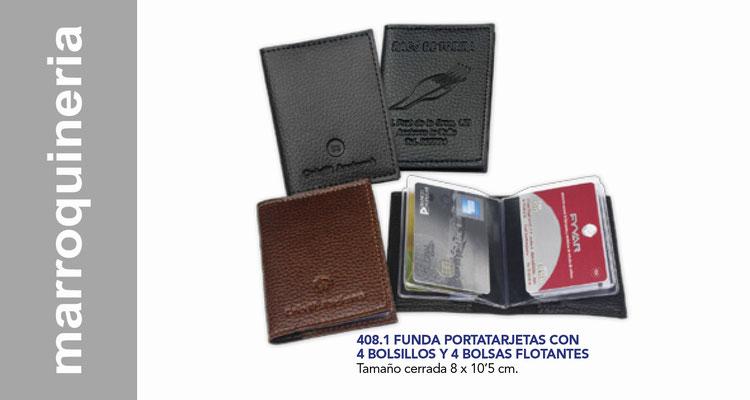 Marroquineria , carteras, portadocumentos.