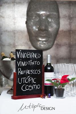 Utopicdesign decoración en Baleares, reportaje fotografía evento Magenta