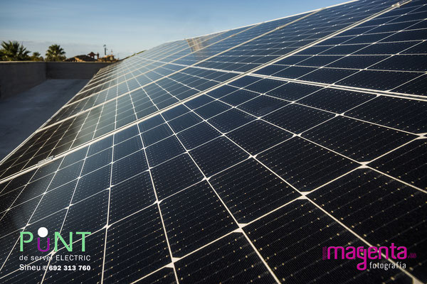 Energia solar, Punt de servei Sineu