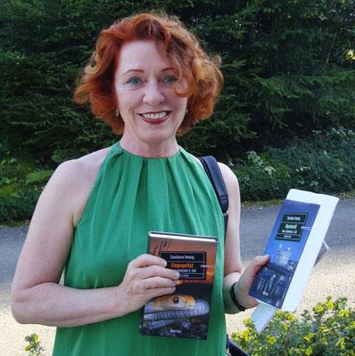 Die Autorin bei der Kriminacht in Nussdorf a. Attersee 2015
