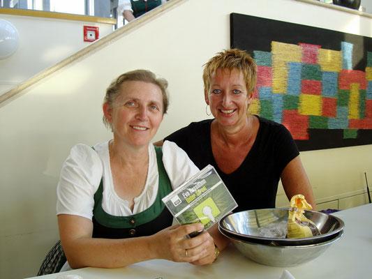 Ingrid Pernkopf und Eva Rossmann