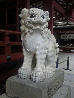 太宰府天満宮狛犬(阿形)