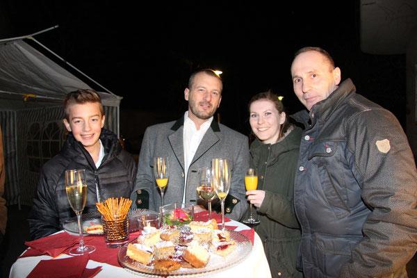 Sascha Sander, Gunter Görschel, Maike & Kurt Jesernik