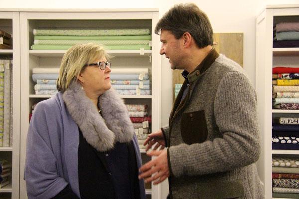 Susanne Andexlinger & Bgm. Kurt Fischer