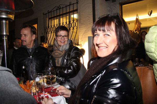Eugen Brüstle, Christine Kuperion & Carmen Krassnitzer