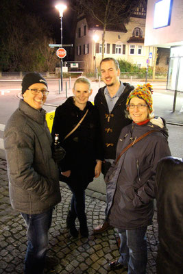 Alexander & Ursula Karu, Leonie & Michael