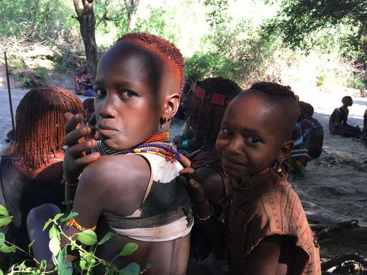Дети в племени Хамер