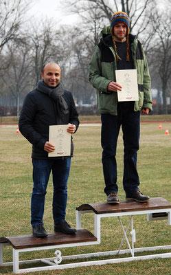 Clemens Winter und Ücler Yilmaz bei der Siegerehrung