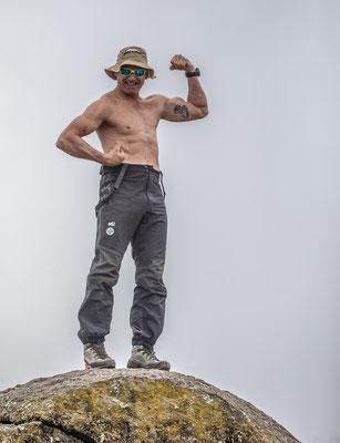 so kann nur einer: Mundi (Polizei-Bergführer, aktiver Bergretter und langjähriger Cobra-Mann)