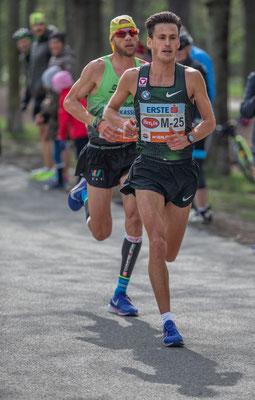 Valentin Pfeil, der heute ein grandioses Rennen lieferte und seine Bestzeit deutlich verbesserte